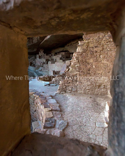 36.  Cliff Palace Through The Window