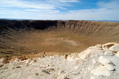 Meteor Crater Winslow, AZ October 2006