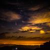 Meteor over Denver Colorado