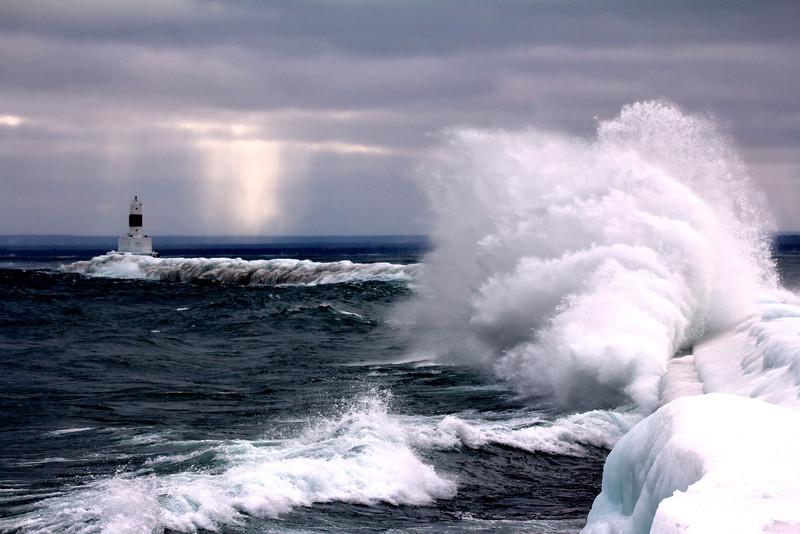 The Wave in Marquette Michigan