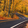 Fall Colors on US-41 near Copper Harbor, Michigan