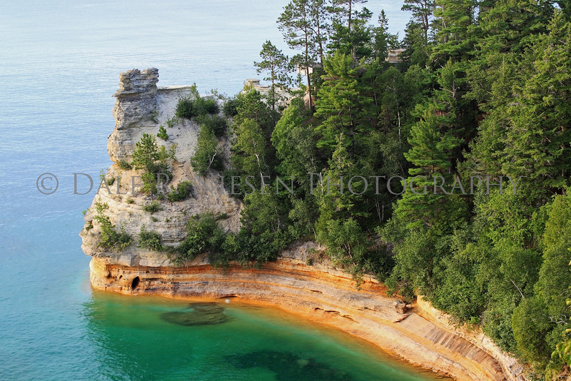 Miners Castle, Pictured Rocks National Lakeshore, Michigan