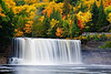 Michigan, Upper Peninsula, Tahquamenon Fall, Foliage Landscape 密歇根 北部半岛 风景 秋色