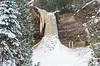 Winter at Munising Falls