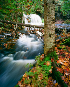 "Rock River Falls - Chatham MI Approx 20 minutes SW of Munising MI  *For information on purchasing prints and canvas gallery wraps, click the ""Purchasing"" tab at the top of the page. If viewing on your mobile device, scroll to the bottom of the page and click the ""Full Site"" tab to view as if you were on your home PC and then go to the ""Purchase"" tab to for purchasing info. In mobile mode, you will not see the standard navigation bar with the ""Purchase"" tab."