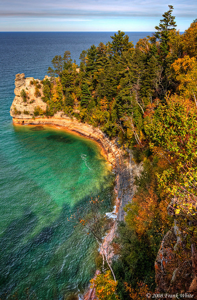 Pictured Rocks National Seashore, Lake Superior, Michigan upper peninsula
