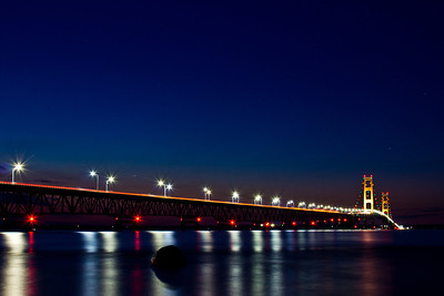 Mackinaw City MI - Mackinac Bridge