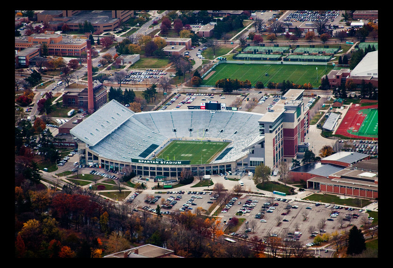Spartan Stadium in East Lansing, Michigan.