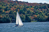 Sailing on Munising Bay