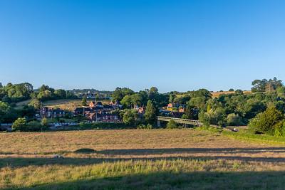 Upper Arley - Sunset