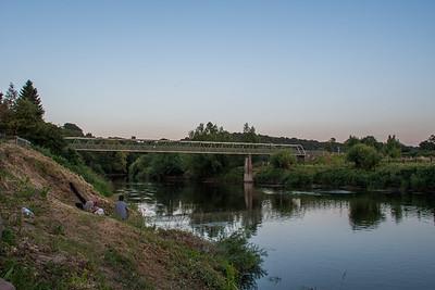 A bridge over Severn