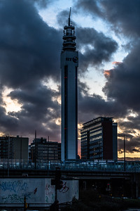 BT Tower Sunset