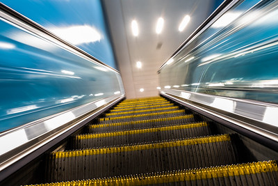 Escalator Vision - Birmingham New Street