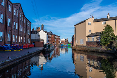 Brindley Place - Winters Canal