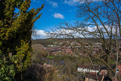 Bridgnorth - Low Town from High Town