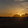 Sunset around Tixall