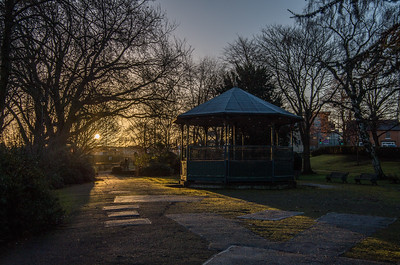 Sunrise at Victoria Park
