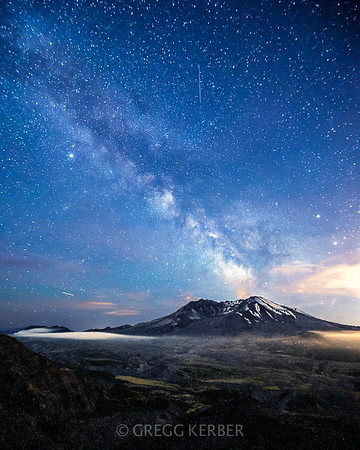 Milky Way and My St Helens 8