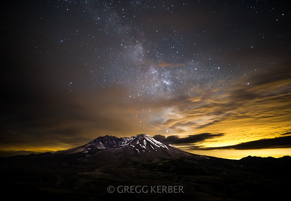 Milky Way and My St Helens 11