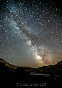 Milky Way of the Deschutes River