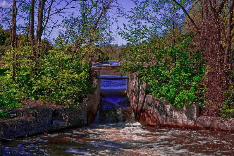 Eden Mills Dam