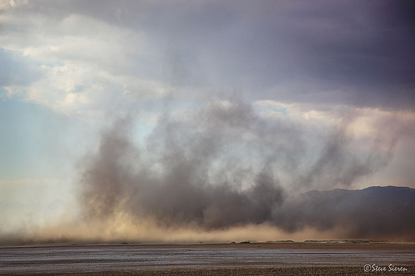Sand Storm - Death Valley