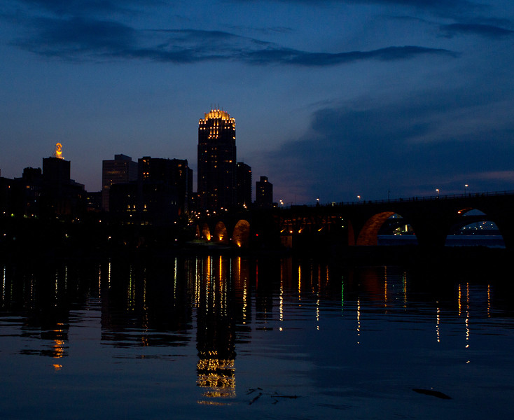 Stone Arch Bridge, Minneapolis, MN
