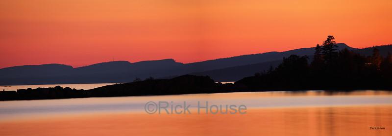 Grand Marais sunset.