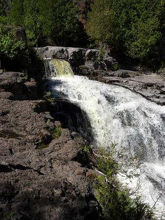 Minnesota -  Goosebery Falls & near Lake Superior