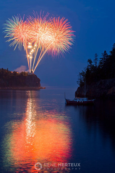 Split Rock fireworks