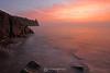 Split Rock Lighthouse colorful sunrise