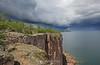 Wall cloud from Palisade Head