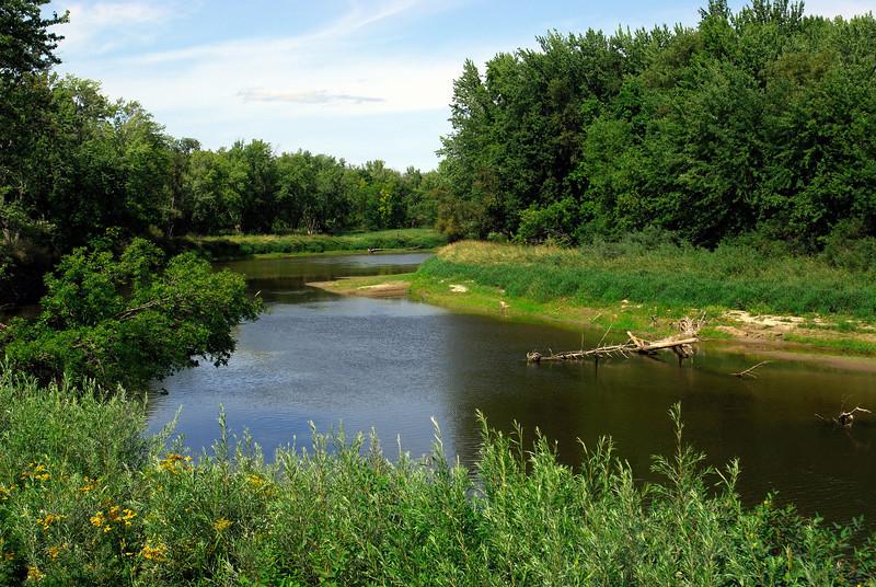 Miss River near Jacobson