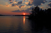 Voyageurs National Park sunset - 02