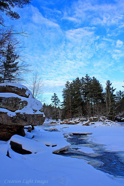 Kettle River Winter Evening 2