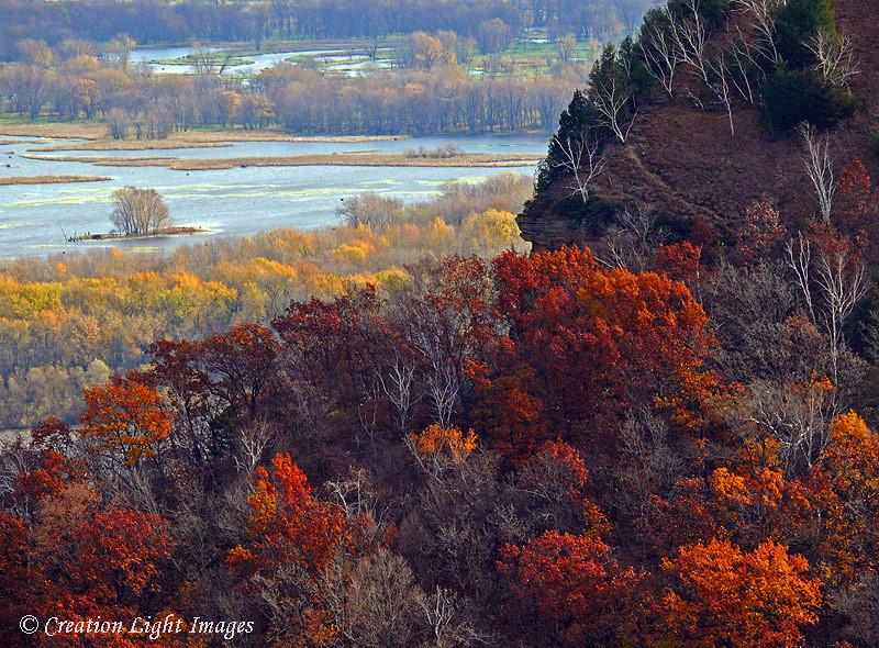 Mississippi River Bluff