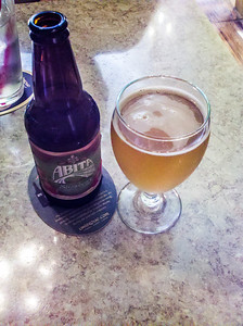 Abita Beer at the Octave Grill, Chesterton, Indiana