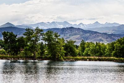 East Twin Lakes Reservoir
