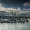 Sun shines on the fleet