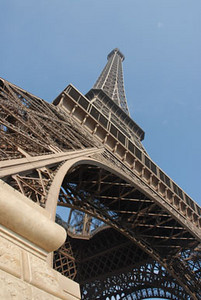Eifel Tower Steep Base 0298