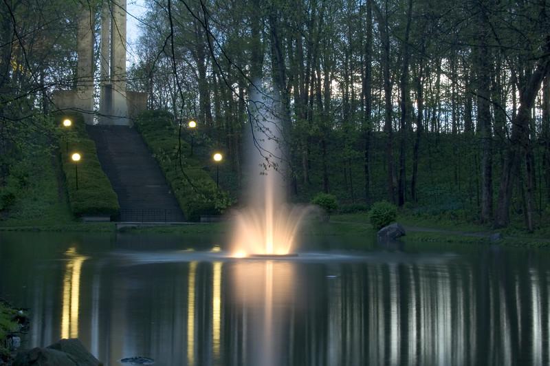 Holcomb Gardens, Butler University, Indianapolis