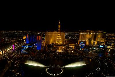 Las Vegas From the Bellagio