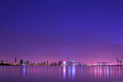 Miami From Fisher Island