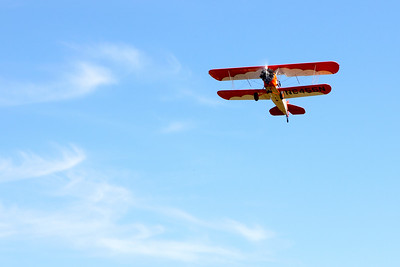 In flight 2