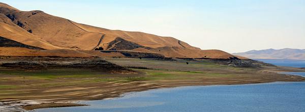 San Luis Reservoir, CA. 2 Jul 2008.
