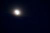 One last snapshot of the moon before it became fully hidden behind the clouds. The moon is now further in the Earth's penumbra, almost at the umbra phase.