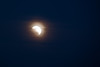 Those of us on the west coast missed the start of the eclipse because it occurred before the moon rose over the horizon.