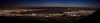 A panorama of the South Bay. This is a combination of three photos stitched together. You can see some vignetting in each of the three photo segments. I'll have to do a better job accounting for that next time around! ;-)