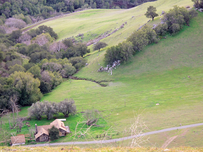 McClure Ranch at the base of Mission Peak.