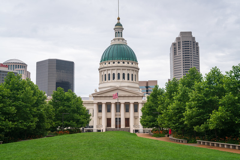 Capitol Building at Gateway Arch National Park
